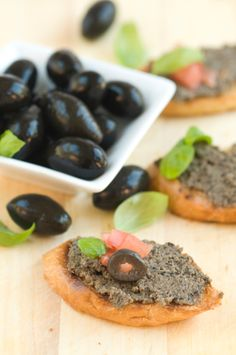 Grown-Up Snack: Black Olive Tapenade