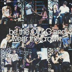 Bucket List 214: Be the OLLG & wear the crown (this would happen only in my dreams)