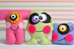 cute little monsters.  have tried this with 3rd and up and think I am ready to try it again!