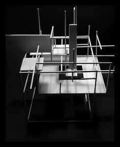 Architecture Model - Lines and Surfaces by KatharsisArchitect on DeviantArt