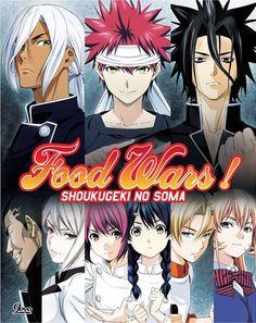 Dvd Anime Food Wars! Shoukugeki No Soma Complete Season 1+2 (1-37) English Sub