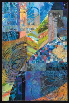 Sue Benner -Art Quilt Tahoe