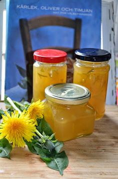 Bohemian Vintage: Collect the sun in a jar: Dandelion Marmalade recipe