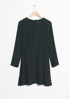 & Other Stories   Dots Mini Dress