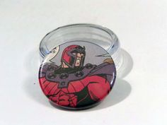 "Comic Book 1.5"" Button// Magneto, $1.00"