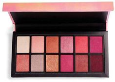 Stunning pink tones from I Heart Revolution - Angel Heart Eyeshadow Palette ad, cosmetics, makeu, beauty Pink Eyeshadow Palette, Colorful Eyeshadow, Makeup Palette, Neutral Eyeshadow, Eyeshadow Ideas, Makeup Dupes, Beauty Makeup, Drugstore Eyeshadow, Makeup Tools