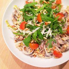 Healthy Living in Heels: Romige Champignon Pasta (V)