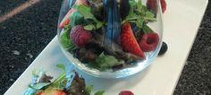 Salada Antiox com frutos vermelhos e Molho de Modena & Mel