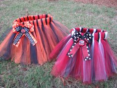 Baby / Toddler / Girl's Auburn Tigers or Alabama Crimson Tide TuTu - Your Choice on Etsy, $20.00