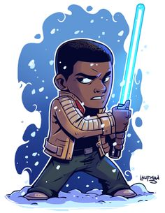 Finn - Derek Laufman> More Star Wars Chibi :) Star Wars Fan Art, Film Star Wars, Star Wars Karikatur, Star Wars Zeichnungen, Star Wars Cartoon, Star Wars Drawings, Cartoon Drawings, Cartoon Art, Star Wars Characters