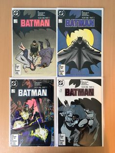 Batman 404-407 (1940) Batman Year One Full Set Fine to Very Fine Condition