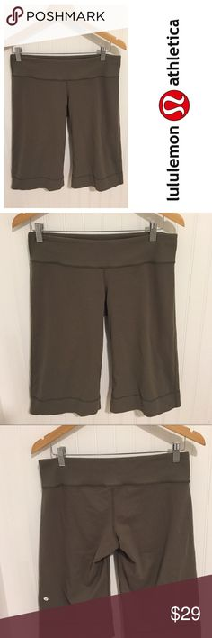 Lululemon olive green relaxed shorts 10 Size 10. Worn a few times. In excellent condition. See my closet for more great deals on designer clothing, shoes, and accessories. 15% off a bundle of three or more Items. lululemon athletica Shorts