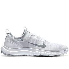 Nike FI Bermuda Golf Shoes 2016 Ladies White/Wolf Grey Medium 5 * See this great product. Spikeless Golf Shoes, Womens Golf Shoes, Shoes Women, Air Max Sneakers, Sneakers Nike, Shoes 2016, Amazon Associates, Nike Golf, Dear Santa