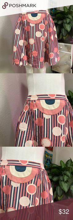 MARC JACOBS SZ XS 2 PATTERN SKIRT PINK Super skirt Marc Jacobs Skirts