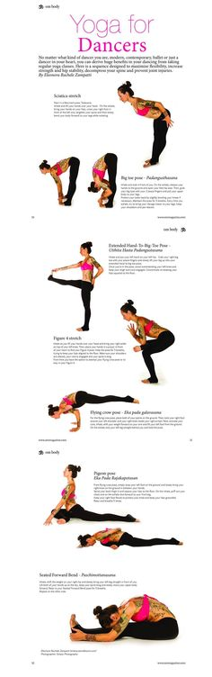 Awesome article on #YogaForDancers in @OMYogaMagazine #MikaSpotting