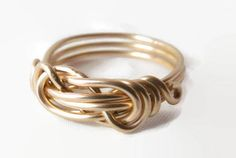 Sterling Silver Love Knot Ring Infinity Knot Ring Infinity