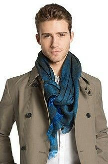 Elegant silk, loose fit | Men's Scarves