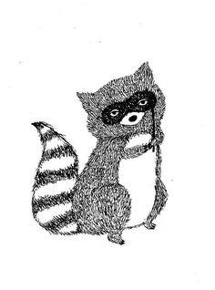 Bandit Raccoon