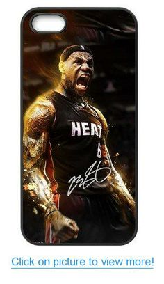 Accurate Store NBA Miami Heat LeBron James Iphone 5,5S TPU Case Cover