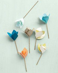 paper flowers #decorations #paper #flowers