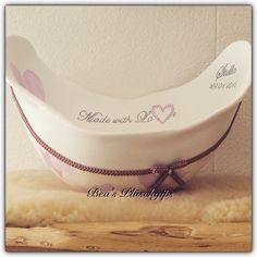 Made with Love, Belly bowl with many hearts, designed by Beate Koppensteiner Bea's Plüschgips www.babybauch-abdruck.ch