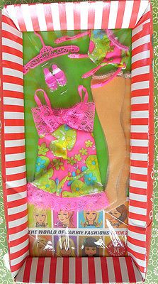 Vintage Barbie Fashion Underliners Mod Mint  NRFC MIB NRFP NIP MOC