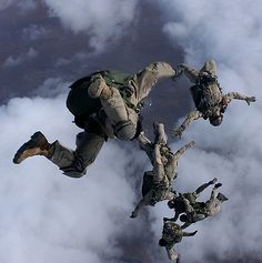 Paratroopers, my Grandfather was a paratrooper