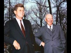 This telephone call between President Kennedy and former President Dwight D. Eisenhower took place on October just a few hours before JFK went on t. American Presidents, American History, Famous Speeches, Dwight Eisenhower, John F Kennedy, Former President, Popular Music, Jfk