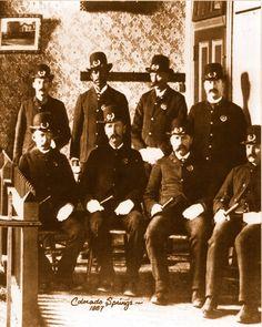 Policemen,Colorado Springs,1887