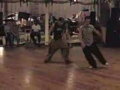 Max and Thomas swing dance - never tire of watching this one - funky as