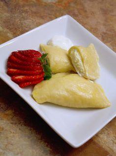 The Best Vareniki Dough Recipe - How to Make Vareniki S Syrom (Вареники с Сыром) | SheSimmersSheSimmers