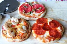 Traeger Tailgating: Grilled Personal Pizzas