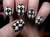 Super cute nail polish design