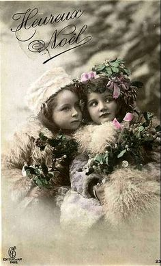 Vintage Ephemera, Vintage Cards, Vintage Postcards, Vintage Christmas Photos, Christmas Pictures, Noel Christmas, Victorian Christmas, Retro Images, Vintage Images
