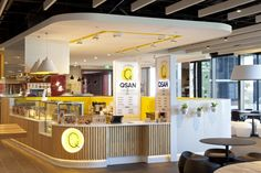 Qsan Yakitori express store by Morris Selvatico, Sydney