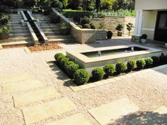 Formal Courtyard Garden