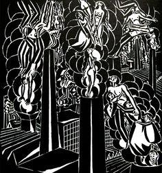 Xilografía de Frans Masereel 72dpi_Masereel_Madrid_Aa 19, 1920_MG_6757