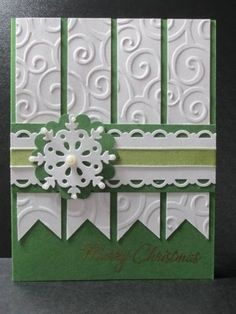 Green Christmas by AnnetteMac - Cards and Paper Crafts at Splitcoaststampers