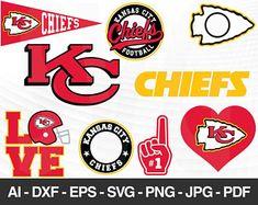 Kansas City Chiefs Svg Cut Files For Cricut Kansas City