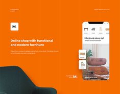 """Check out new work on my @Behance portfolio: """"M. - furniture store"""" http://be.net/gallery/64192255/M-furniture-store"""
