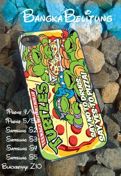 TMNT ninja turtle say yes to pizza  iPhone by Bangkabelitung, $15.00