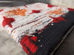 Vintage Kantha QuiltReversible Kantha by IndianHomeTextile on Etsy, $49.99