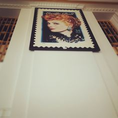 """Instagram // """"I Love Lucy"""" stamp at the Hollywood Post Office // ChaffinCadePhotos.com"""