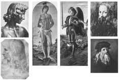 Fig. 2: Portraits of Leonardo da Vinci