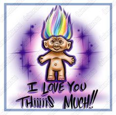 830486b1a BUY CUSTOM AIRBRUSH t shirts - Airbrush t shirts, Trolls T-Shirt, Airbrush  Trolls Shirts, Troll Doll Airbrush Shirt, Troll Doll Shirt, Troll