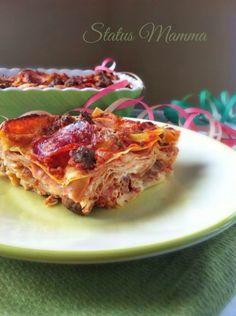 Lasagna napoletana ricetta di Caranevale ricetta primo cucinare Statusmamma Giallozafferano blogGz Statusmamma