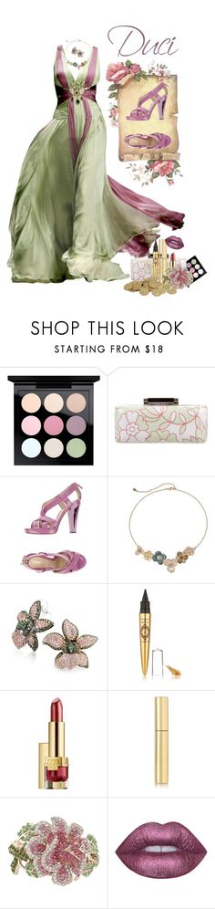 """""""Midsommer Breeze"""" by duci ❤ liked on Polyvore featuring MAC Cosmetics, Diane Von Furstenberg, Zuhair Murad, Fendi, LC Lauren Conrad, Bling Jewelry, Physicians Formula, Estée Lauder, AERIN and Lime Crime"""