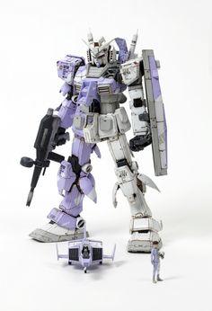 2011 Gunpla Builders World Cup open course first place (in Korea) [PG] Hybrid Gundam RX-78-2 artis...
