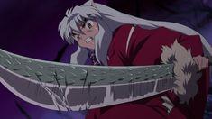 Tessaiga, cracking during the battle