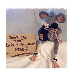 Rat Henry, pattern available via Craftsy.